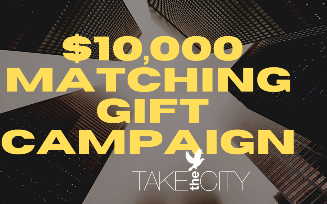 Matching Gift Opportunity!
