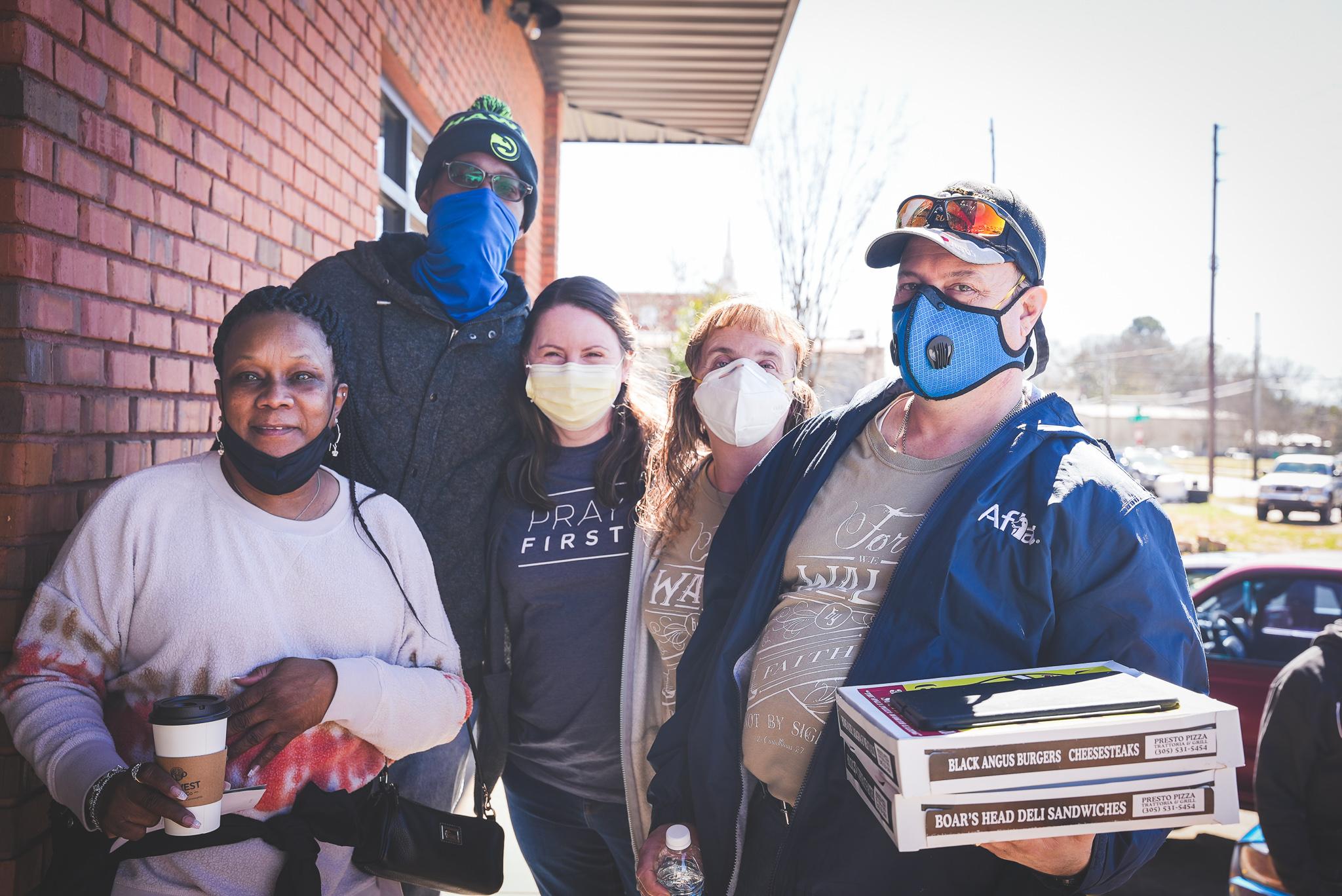 take the city outreach team